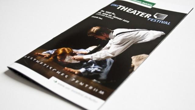 Broschüre Uni Theater Festival 2012