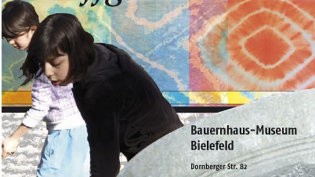 Plakate zu Projektpräsentationen des Bauernhaus-Museum Bielefeld